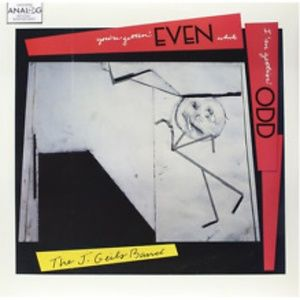 j geils band you're getting even... new sealed LP